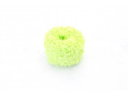 Svetlá zelená mäkká gumička