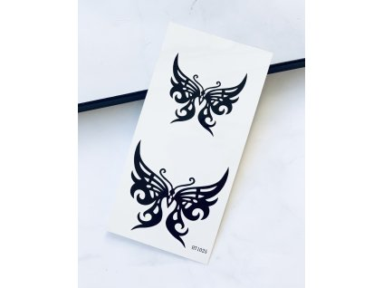 Tetovačky čierne motýle