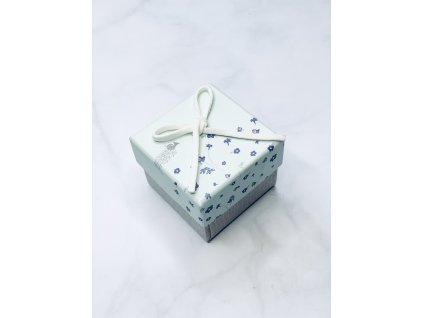 Darčeková krabička malá s maslovou mašľou
