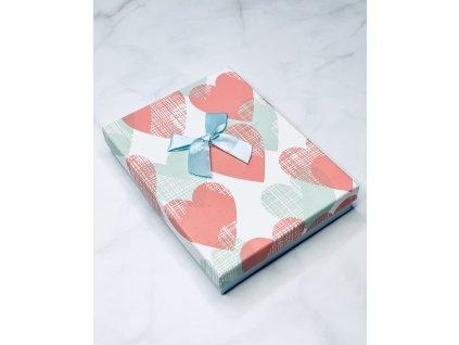 Darčeková krabička srdiečka