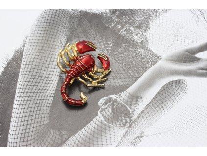 Brošňa škorpión