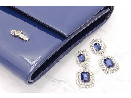 Listová kabelka námornícka modrá