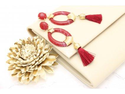 Listová kabelka telová