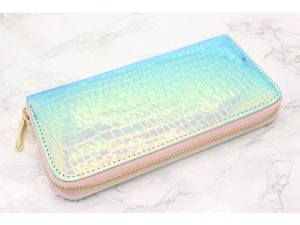 Farebná Holografická peňaženka so štruktúrou