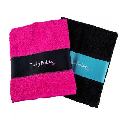 fashio rucnik pink black1 kopie