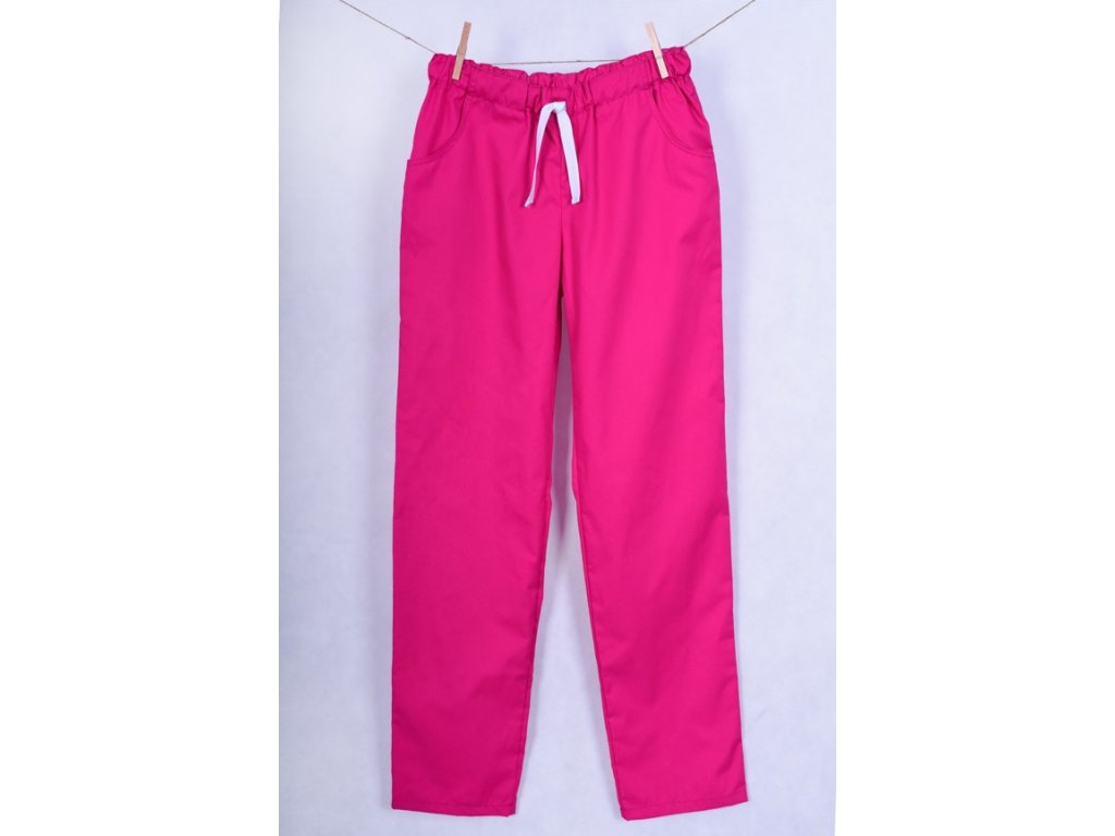 Kalhoty růžové