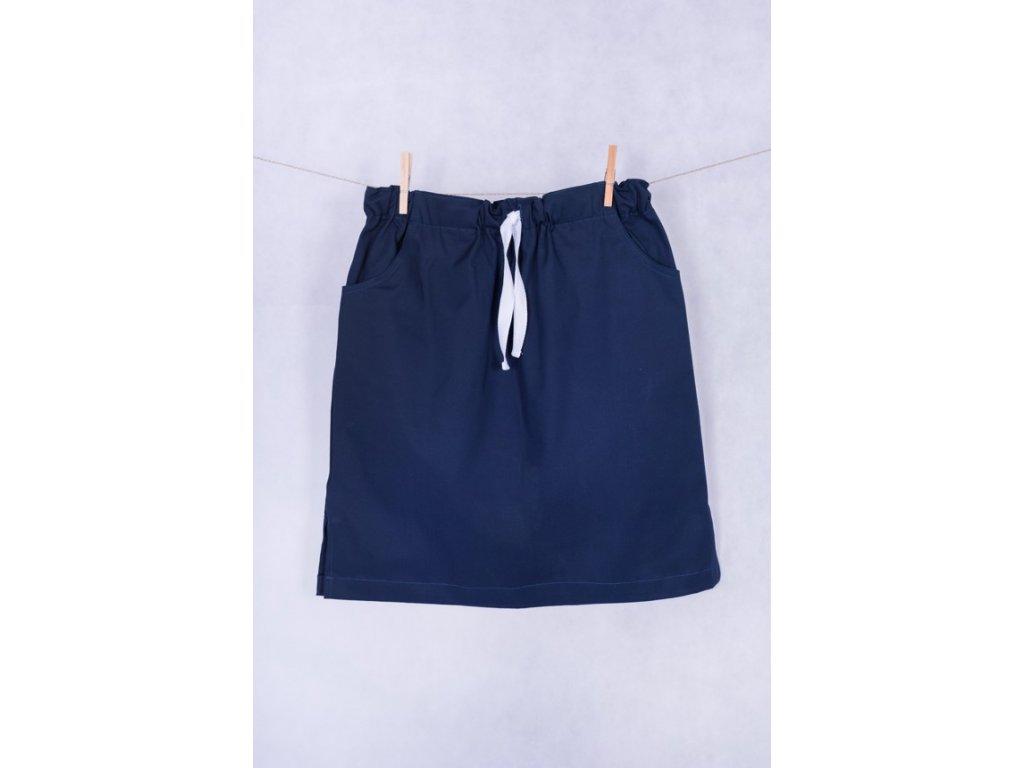 Zdravotnická sukně modrá