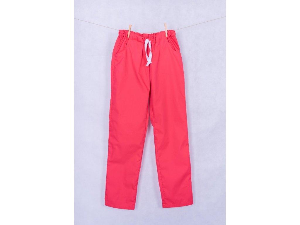 Zdravotnické kalhoty cihlové
