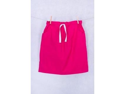 Zdravotnická sukně růžová