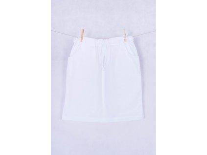 Zdravotnická sukně bílá