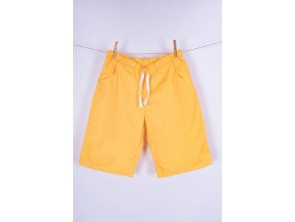 Zdravotnické šortky žluté
