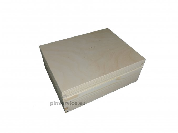 wooden box pisces 1
