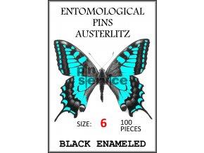 OBAL 17 100 pieces Black Enameled – barva modrá 6 vodoznak