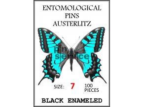 OBAL 17 100 pieces Black Enameled – barva modrá 7 vodoznak