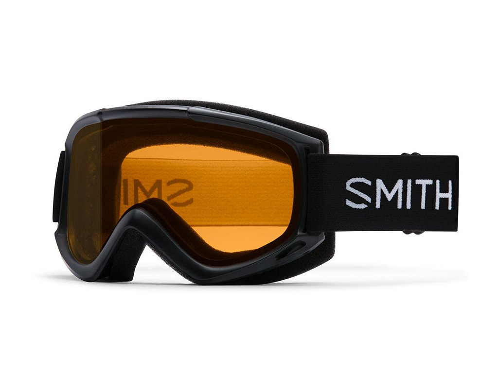 Brýle Smith Cascade Classic Black S1 Gold Lite