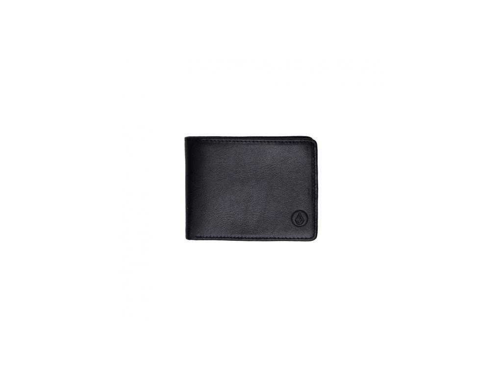 Peněženka Volcom Strangler Black D6031851