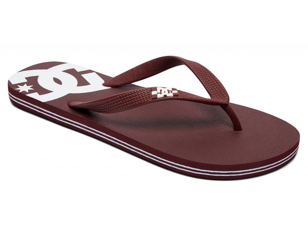Pantofle DC Spray 303272 maroon