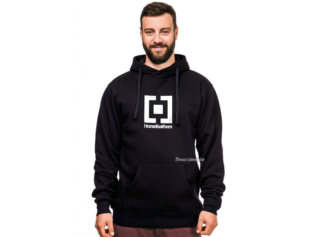 MIKINA HF LEADER SWEATSHIRT BLACK