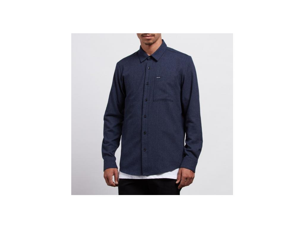Košile Volcom Caden Solid L/S A0531806 MDB