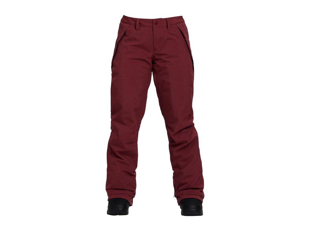 Kalhoty SNB Burton Society Red