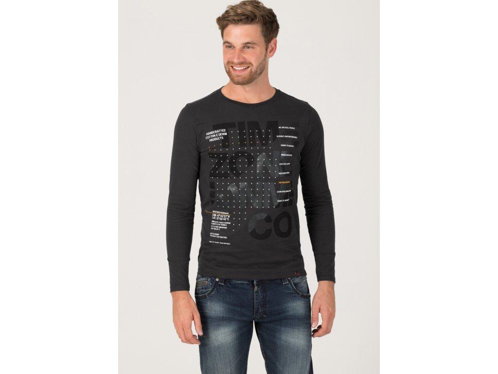 Timezone triko T-Shirt deep anthra šedý