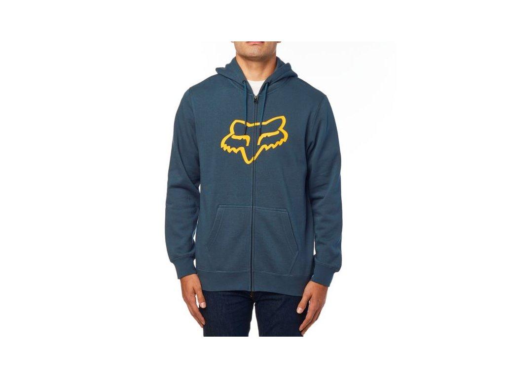 Mikina Fox Legacy Foxhead Zip Fleece Navy