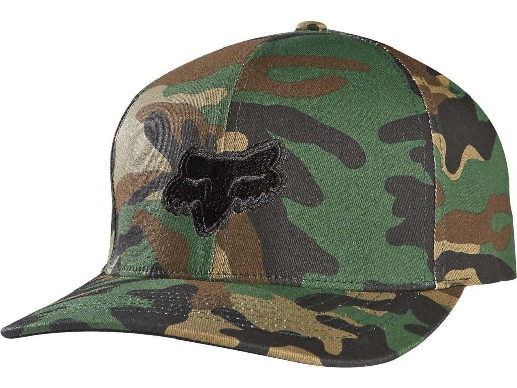 Kšiltovka Fox Legacy Flexfit Hat Camo
