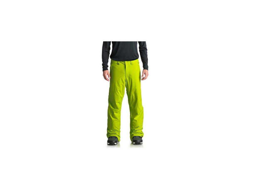 Quiksilver kalhoty Estate EQYTP03088 zelený