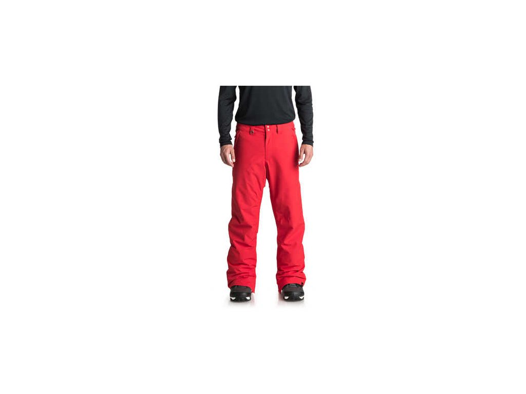 Kalhoty SNB Quiksilver Estate EQYTP03088 červený