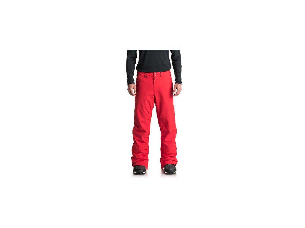 Quiksilver kalhoty Estate EQYTP03088 červený
