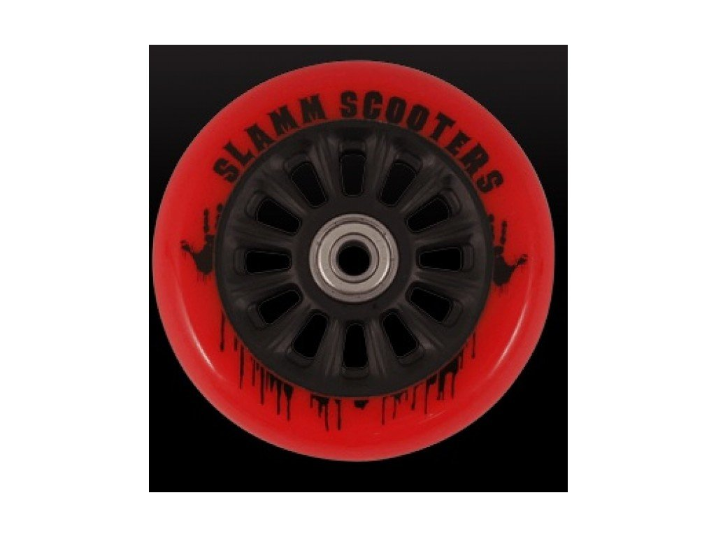 Kolečko Slamm Scooters black/red+abec9
