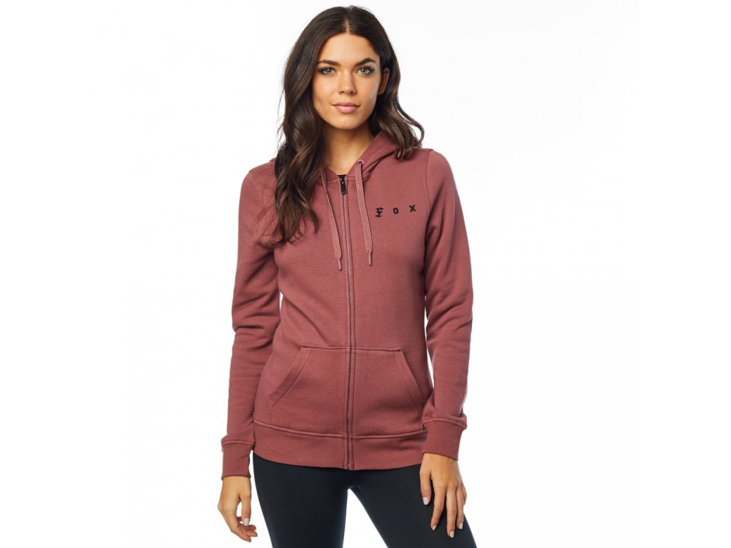 Mikina Fox The Super Zip Fleece Rose