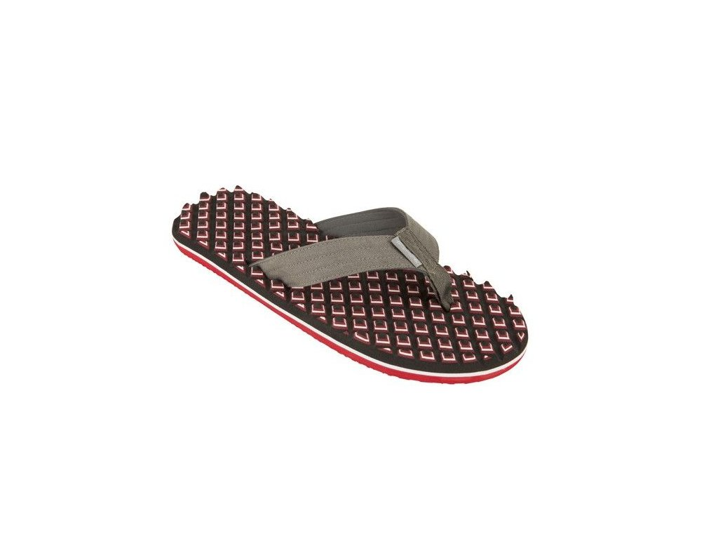 TONGS pas cher HOMME BEACH DONY 3D RED