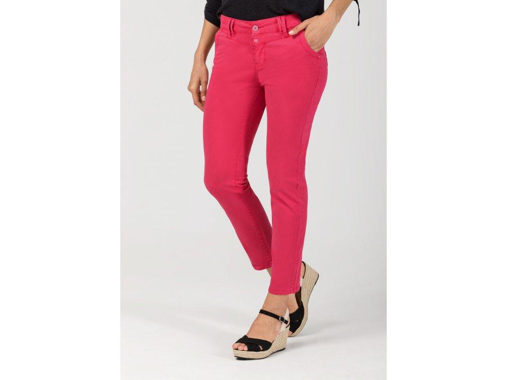 kalhoty Timezone Slim Nali 7/8 dark pink