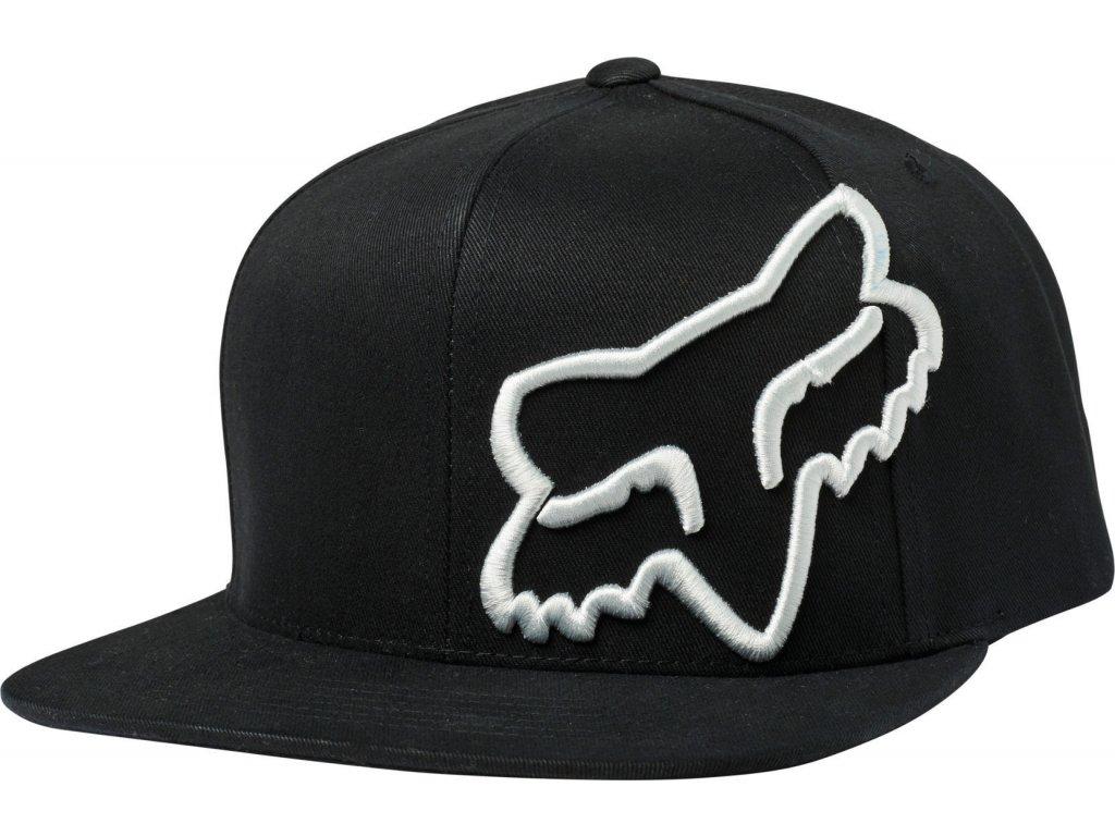 Kšiltovka Fox Headers Snapback Black
