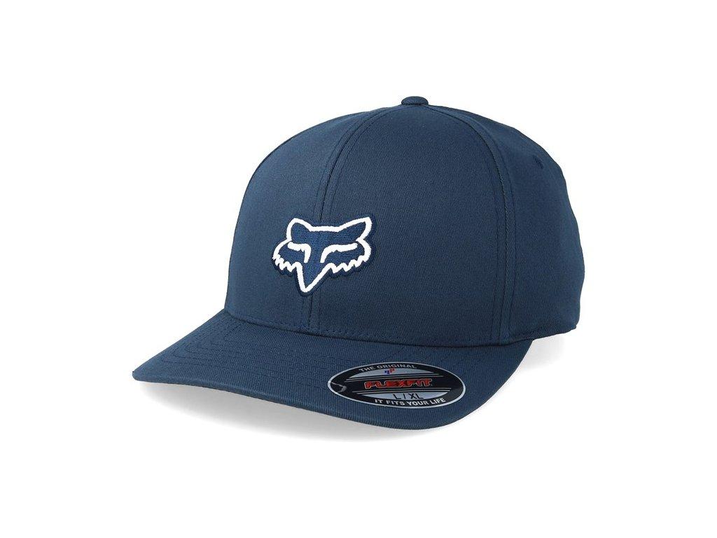 Kšiltovka Fox Legacy Flexfit Hat Navy