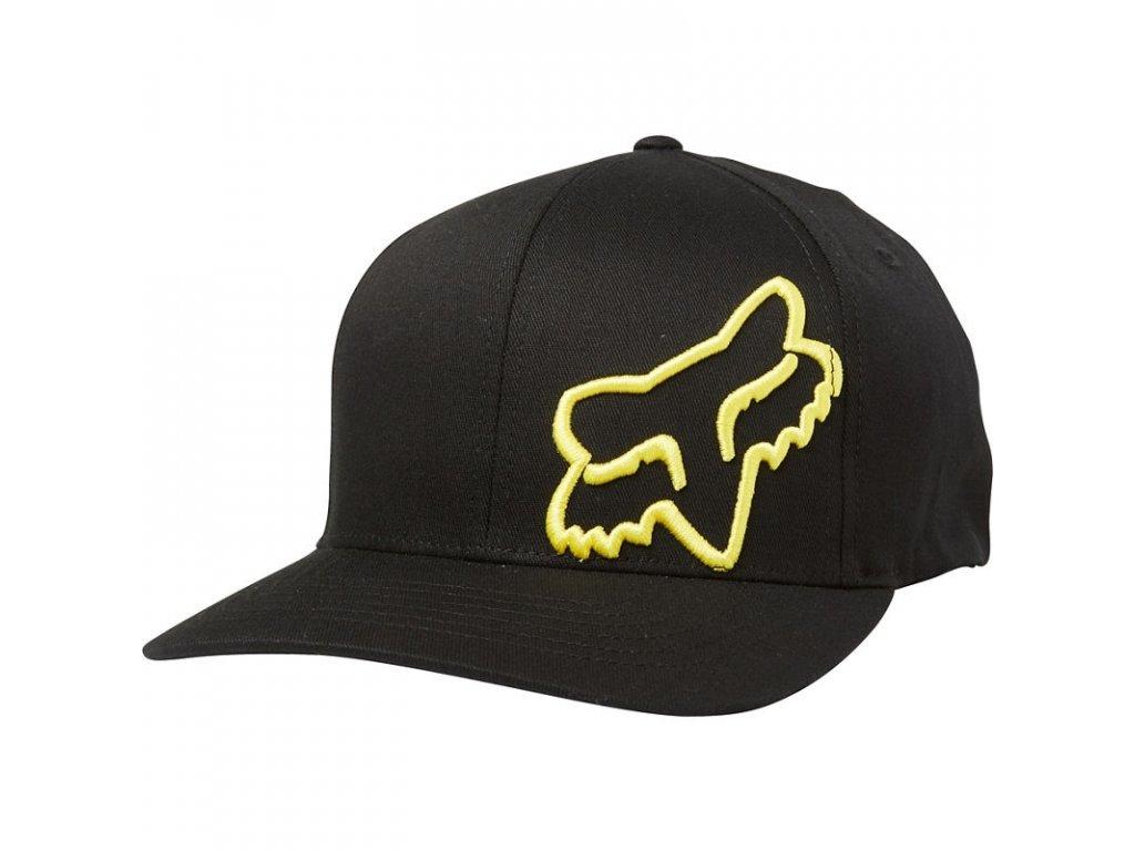 Kšiltovka Fox Flex 45 Black/Yellow