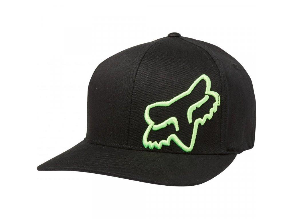 Kšiltovka Fox Flex 45 Black/Green
