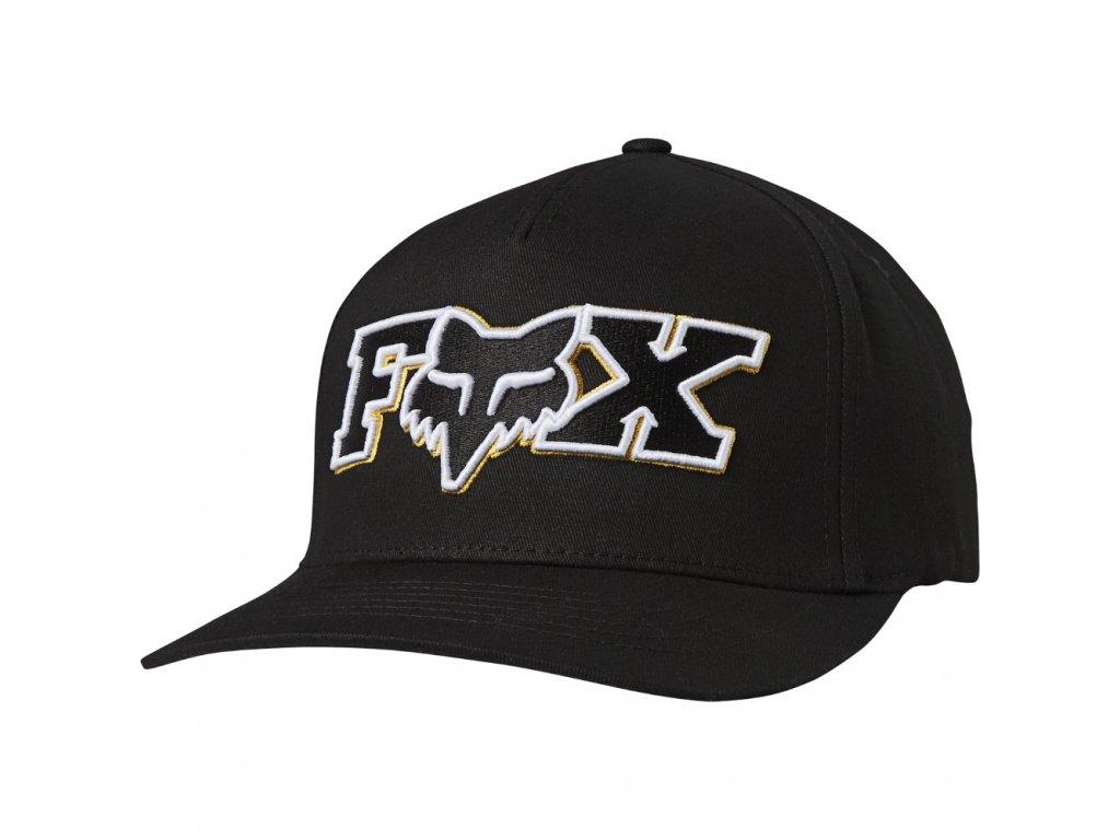 KŠILTOVKA FOX ELLIPSOID FLEXFIT BLK/YLW