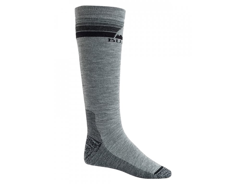 panske funkcni ponozky burton emblem gray heather 89507759 3 thumb 1