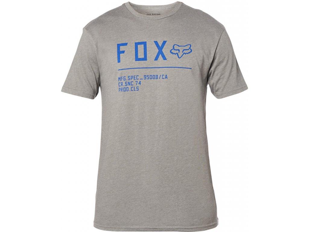 triko Fox šedé