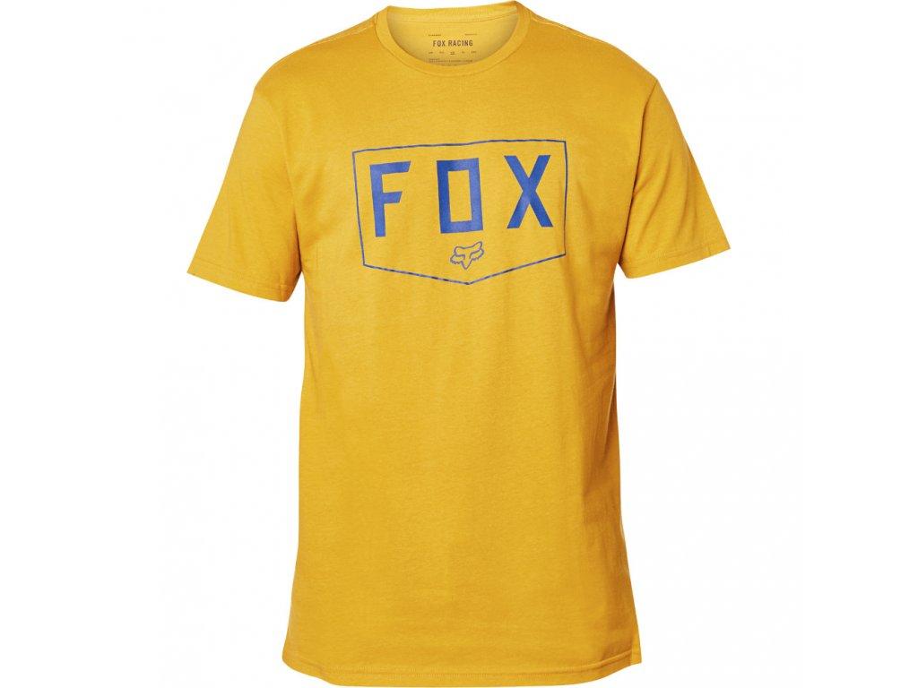 triko fox shield mustard