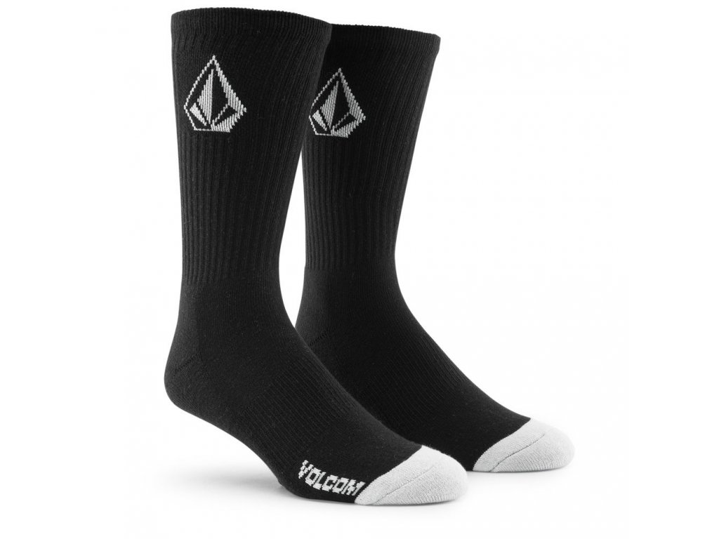 ponožky Volcom černé vysoké