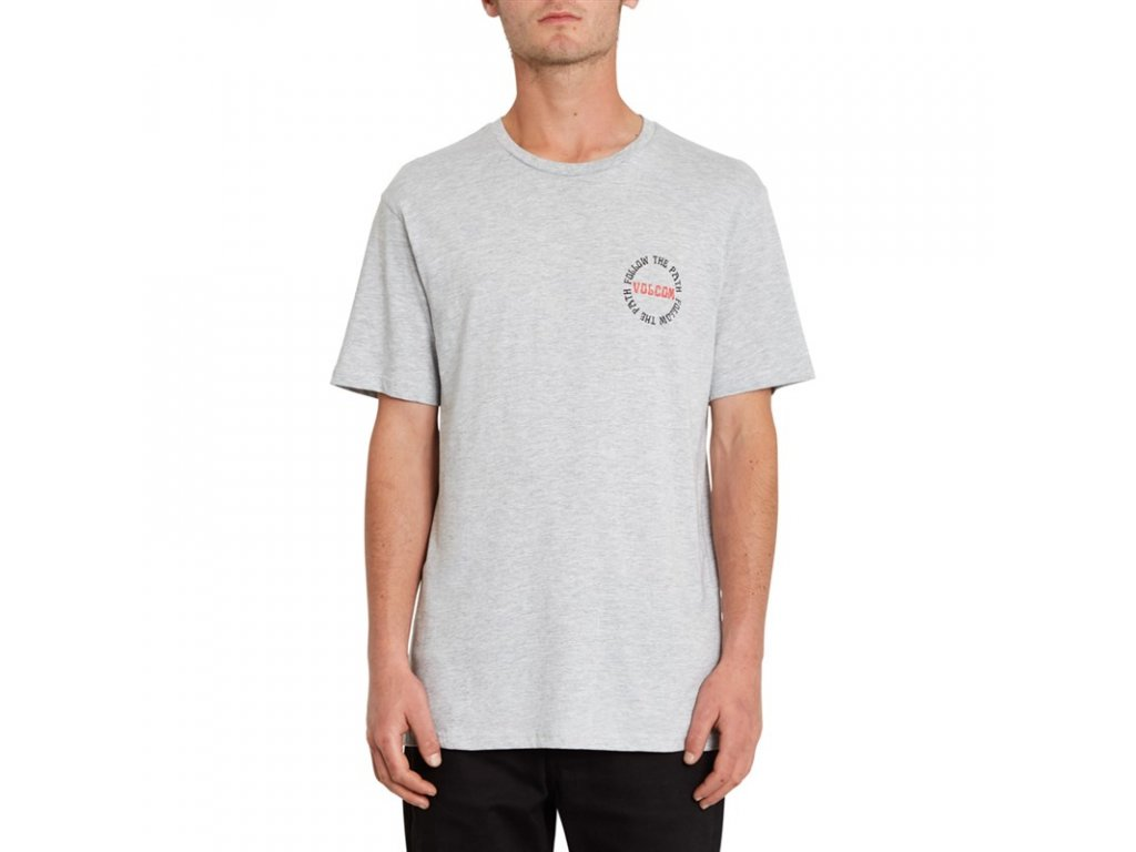 triko Volcom Dither heather Grey