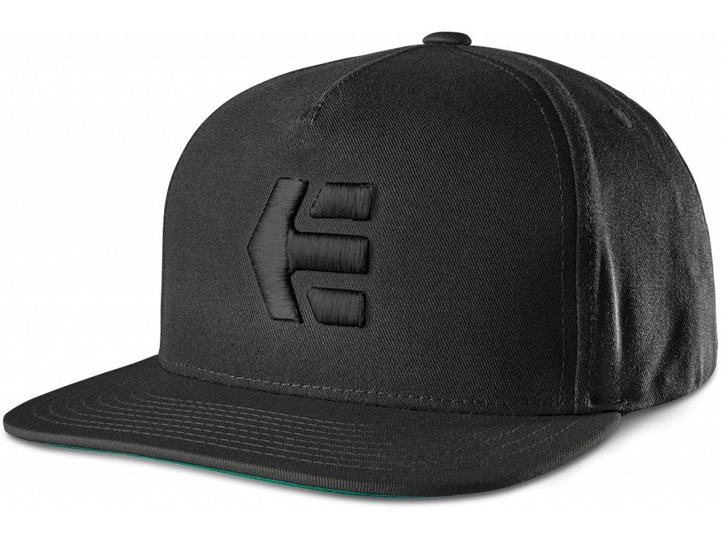 kšiltovka Etnies Icon snapback černá