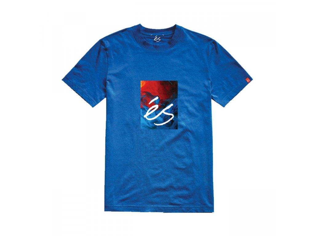 triko ES Hyper logo modré