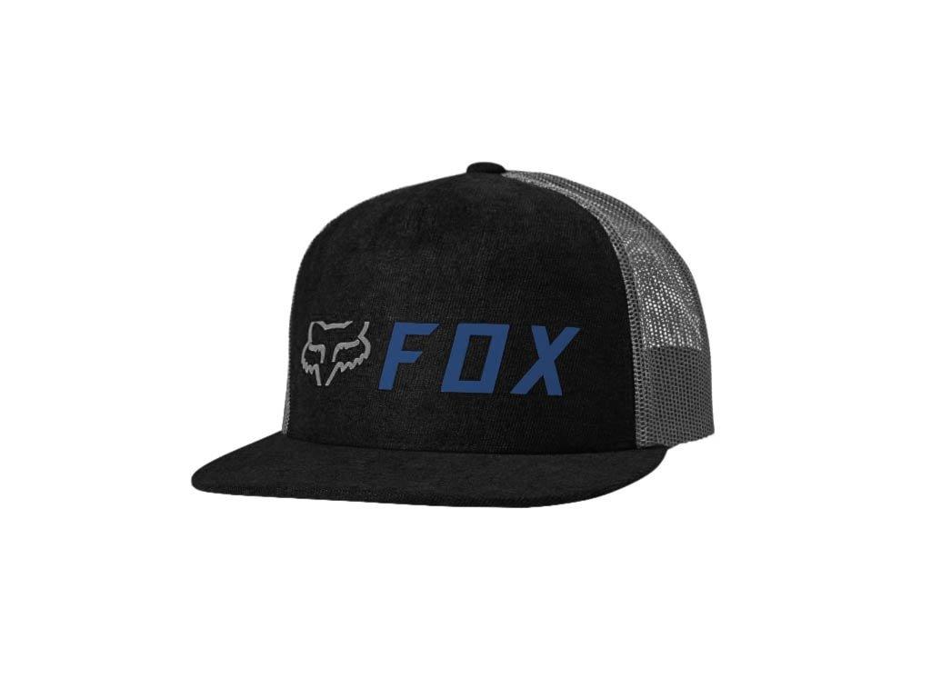 KSILTOVKA FOX APEX SNAPBACK BLACK BLUE