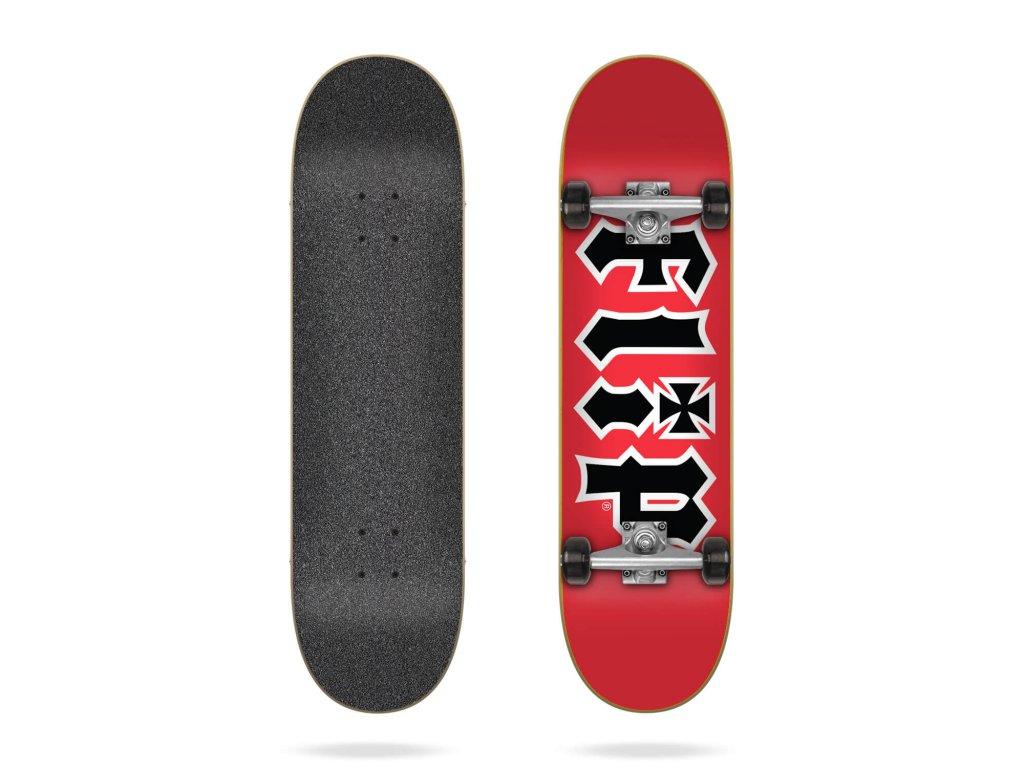 flip hkd red 8 25 complete skateboard