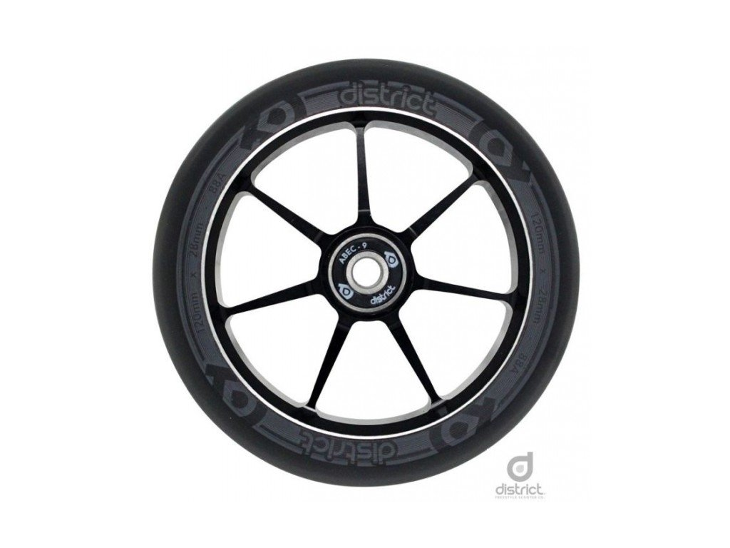 diw19000 district w110 wheels grey single