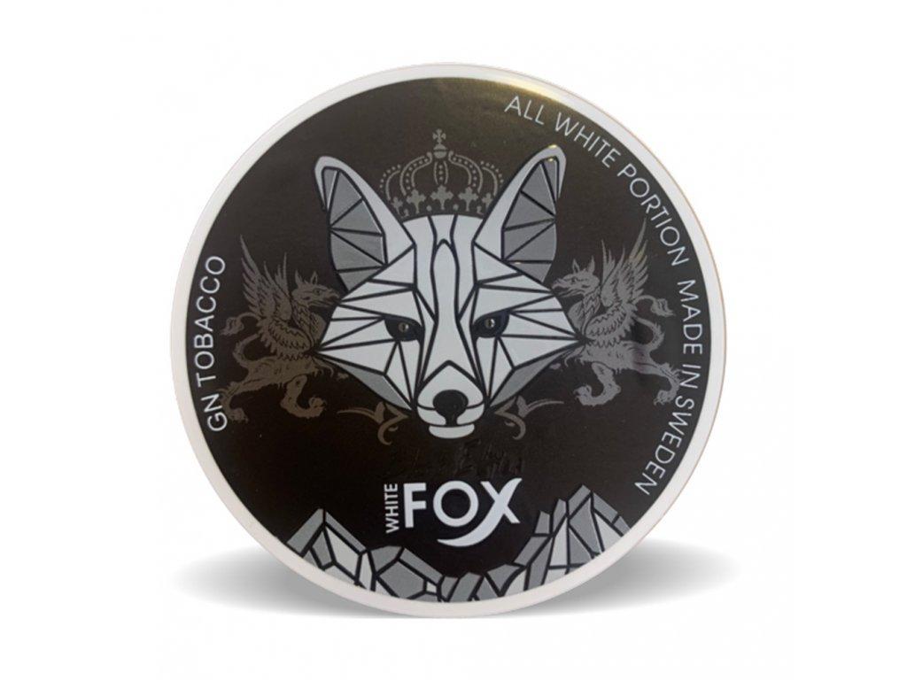 350 white fox black edition stin